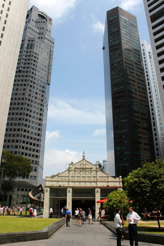 Singapore - Raffles Place Today