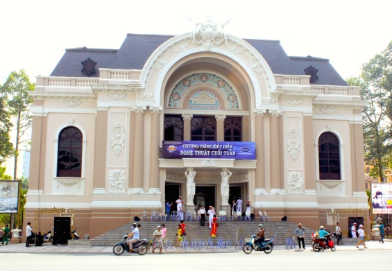 The Municipal Opera House today.