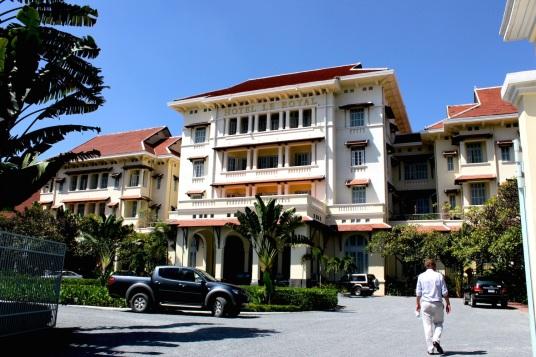 Raffles Hotel Le Royal.