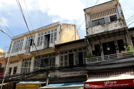 1930s - 1960s architecture, still used by everyday Phnom Penh-ers.