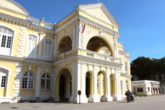 Town Hall, at the Padang.