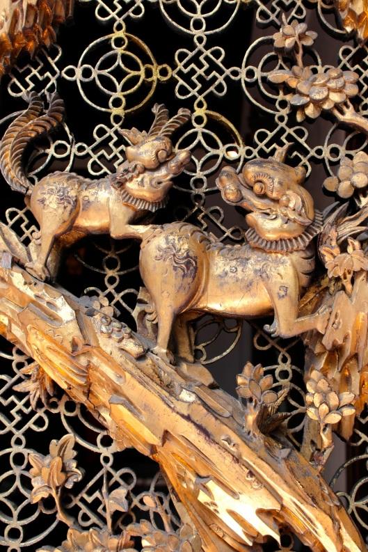Detail, Pinang Peranakan Mansion.