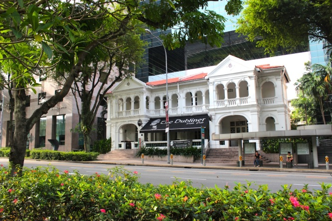 Colonial Contemporary - the last surviving Sino-Portuguese Mansion on Orchard Road proper.