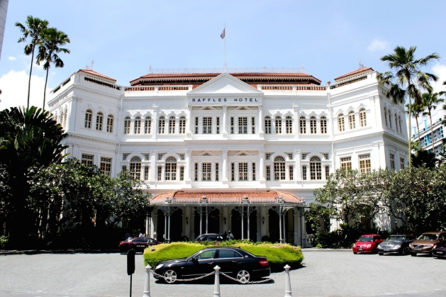 And finally... the grande dame herself: Raffles Hotel.