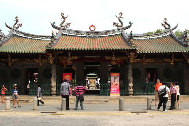 Thian Hock Keng Temple, Telok Ayer Street.