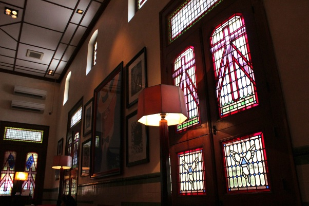 Interior of the House of Sampoerna.