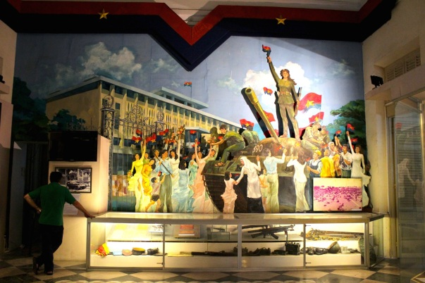 Miss Saigon, in the Ho Chi Minh City Museum.