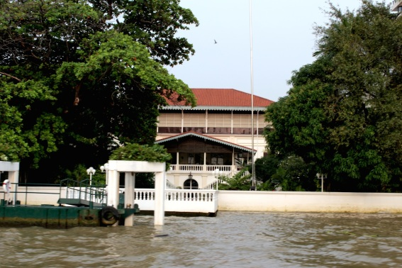 The French Legation is one of the oldest European buildings in Bangkok. It sits in Bang Rak on the Chao Phraya River.