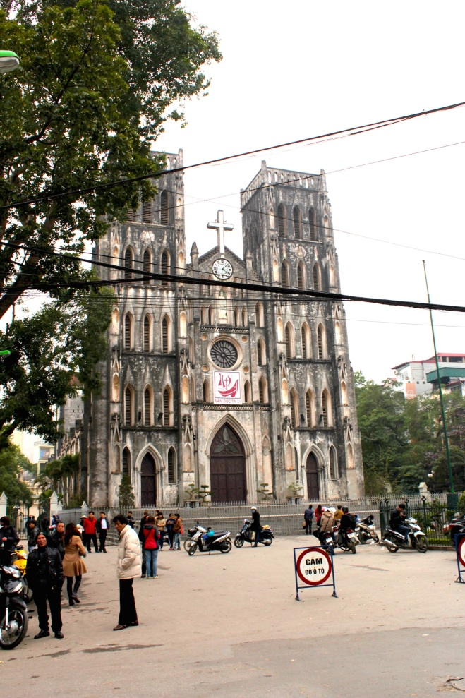 Hanoi's gothic Cathedral of St John.
