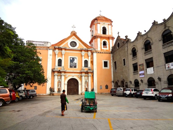 The San Agustin Church, a UNESCO World Heritage site.