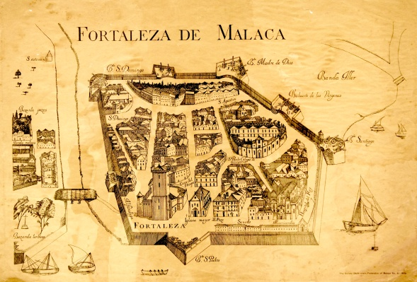 1 - Malacca and Manila Image