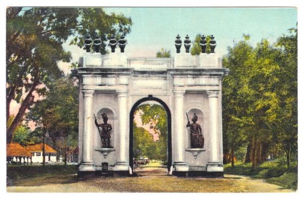 The Amsterdam Gate, Old Batavia.